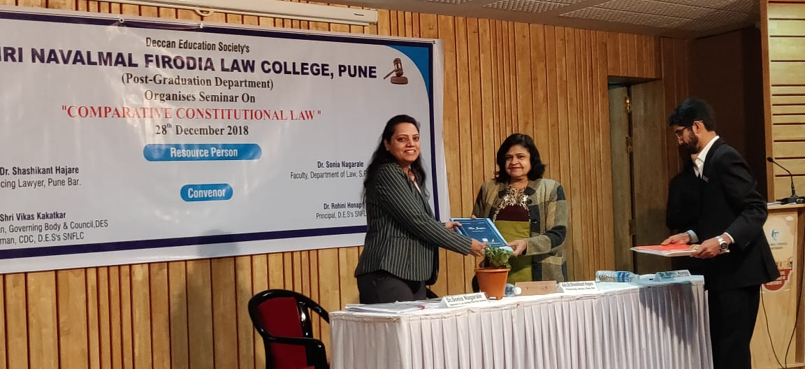 Seminar on Comparative Constitutional Law
